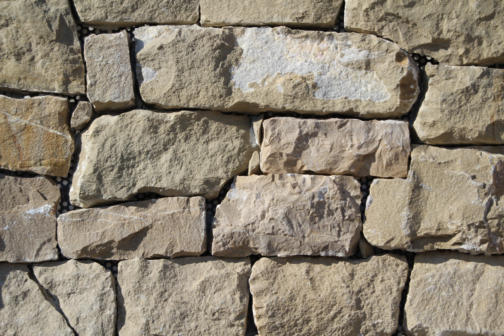 Foto spaccati di marmo e tranciati per muri - Pietra faccia vista per esterni ...