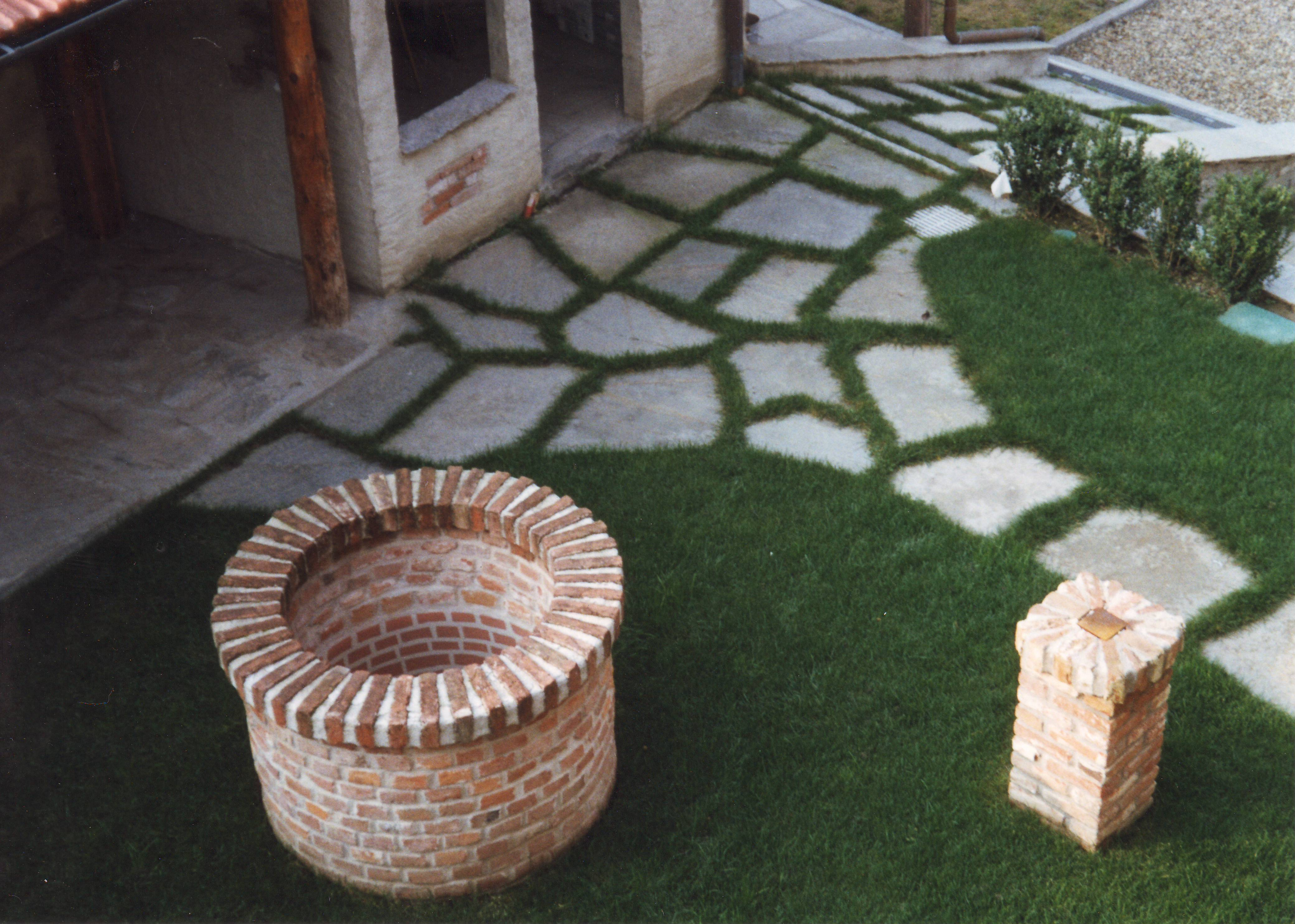 Immagini di pietre per viali o camminamenti esterni da for Foto giardini pavimentati
