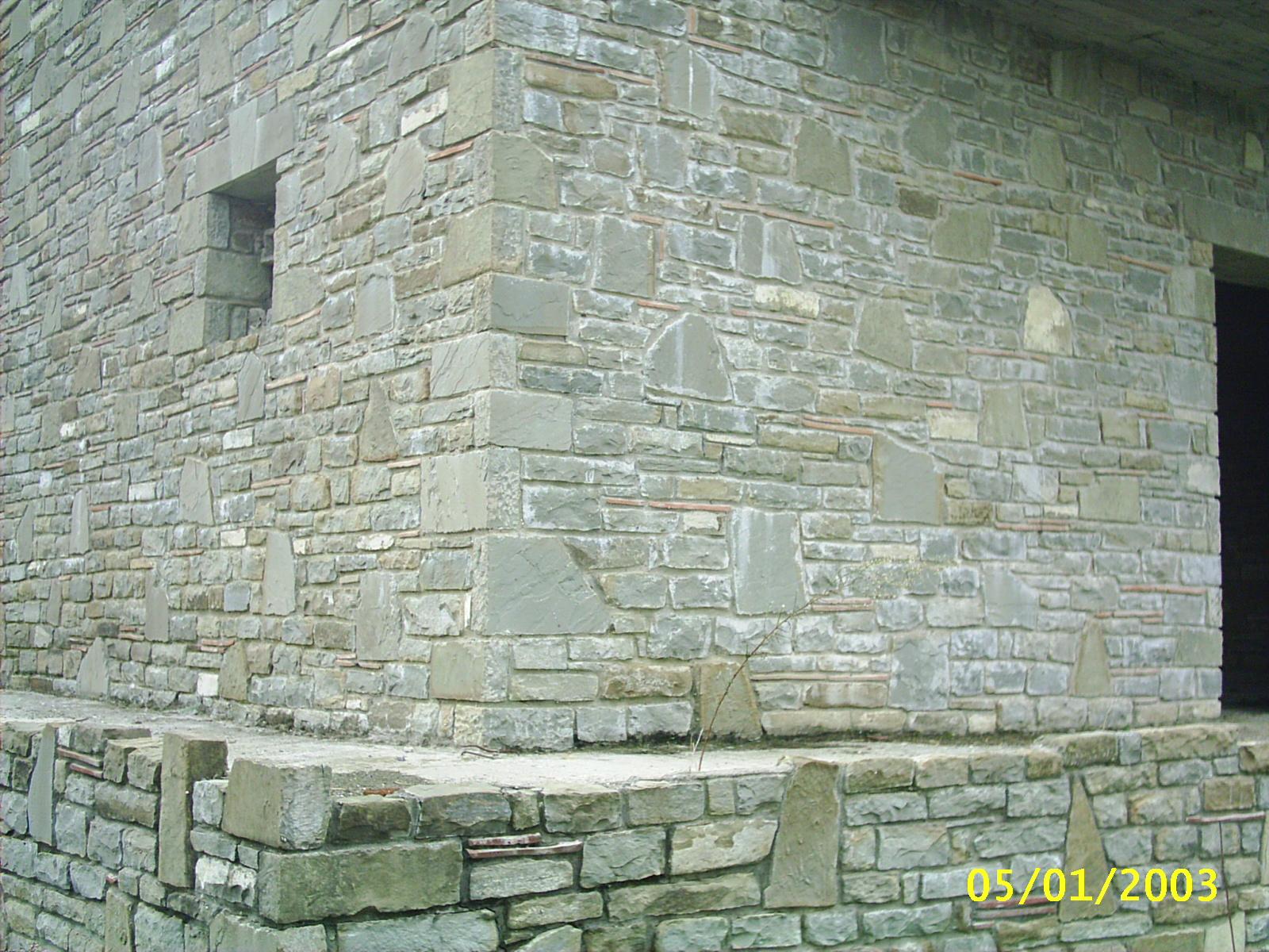 Foto di sassi per muri pietre per muratura - Rivestimento muro esterno ...