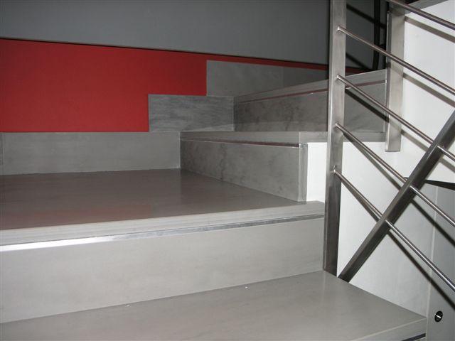 Scala di marmo palissandro classico with scala interna moderna - Scale interne a vista ...