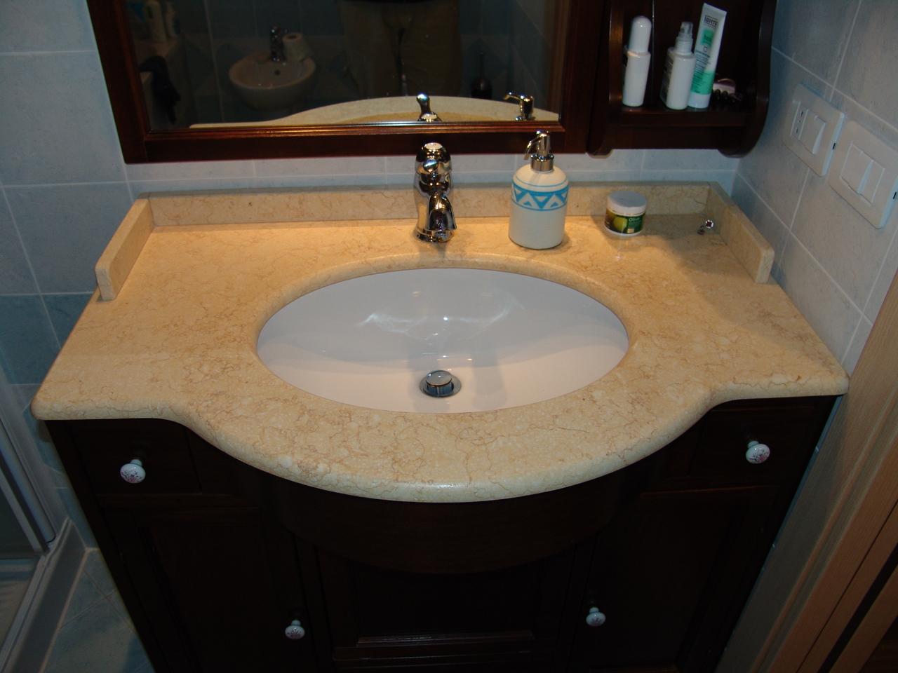 Top bagno marmo prezzi rivestimento bagno rimini santarcangelo di