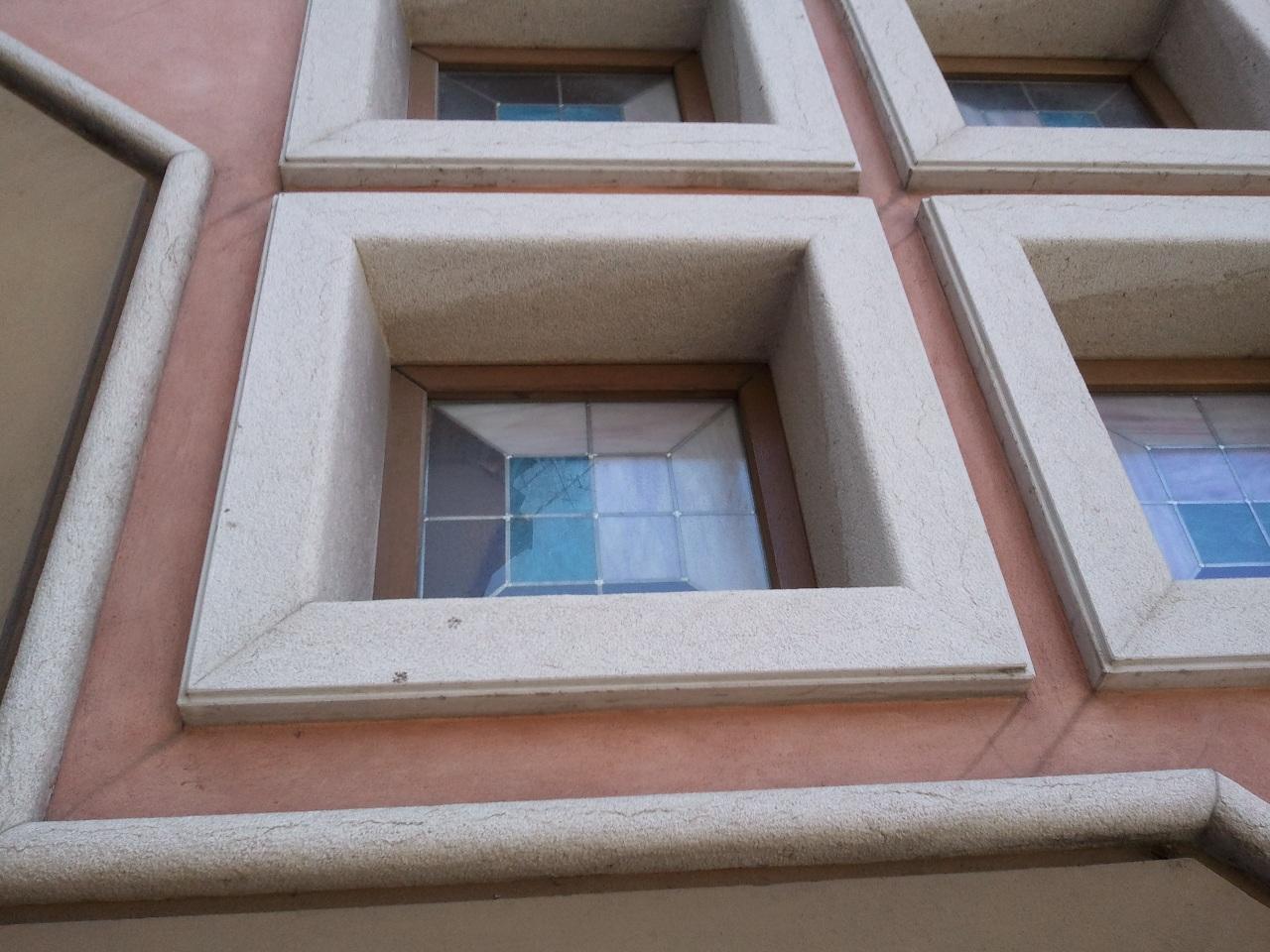 Finestre tonde finestra in legno ad arco ribassato tinta - Finestre usate in regalo ...