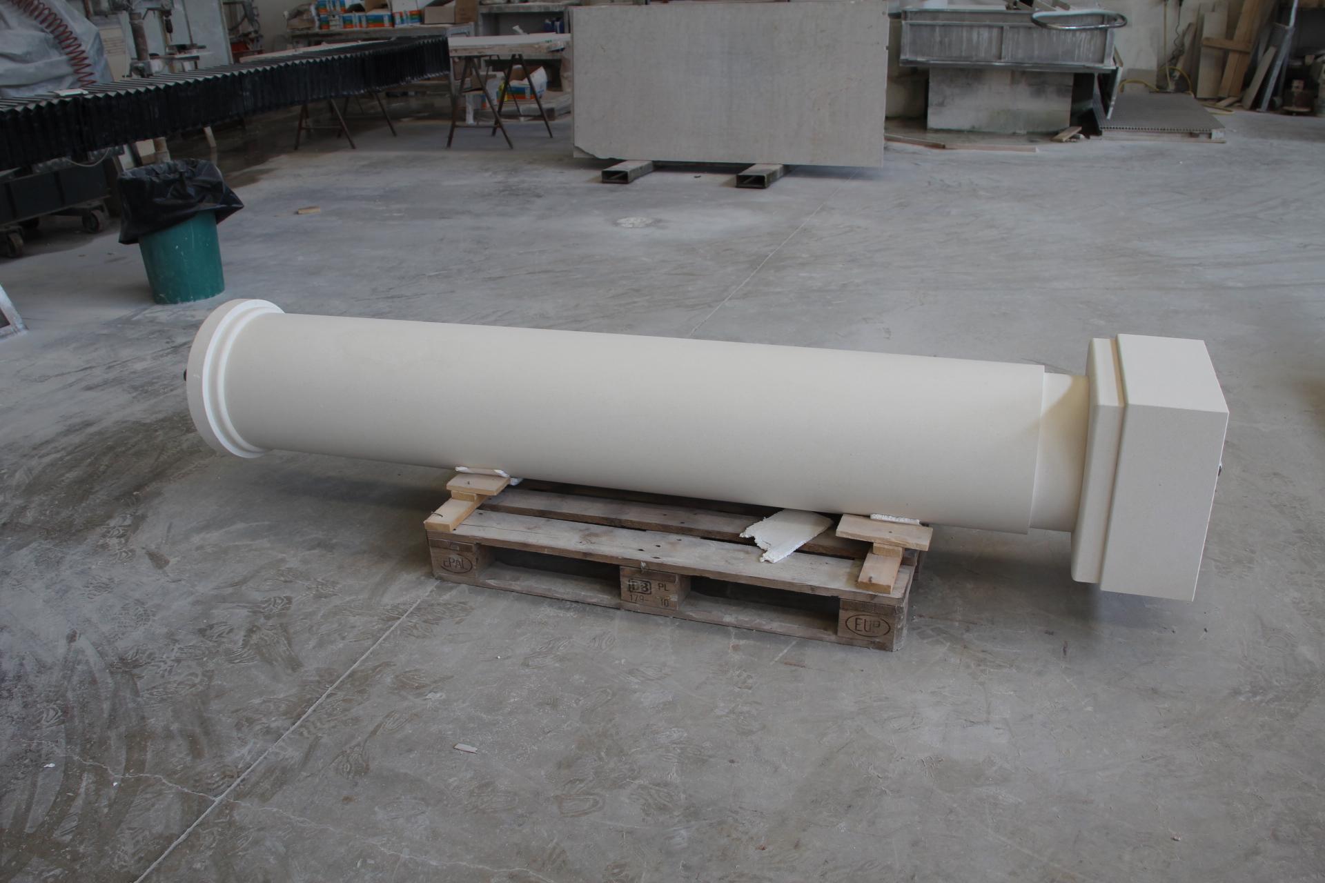 Foto pilastri e pilastrini di marmo paracarri colonne in for Costo per costruire pilastri di pietra