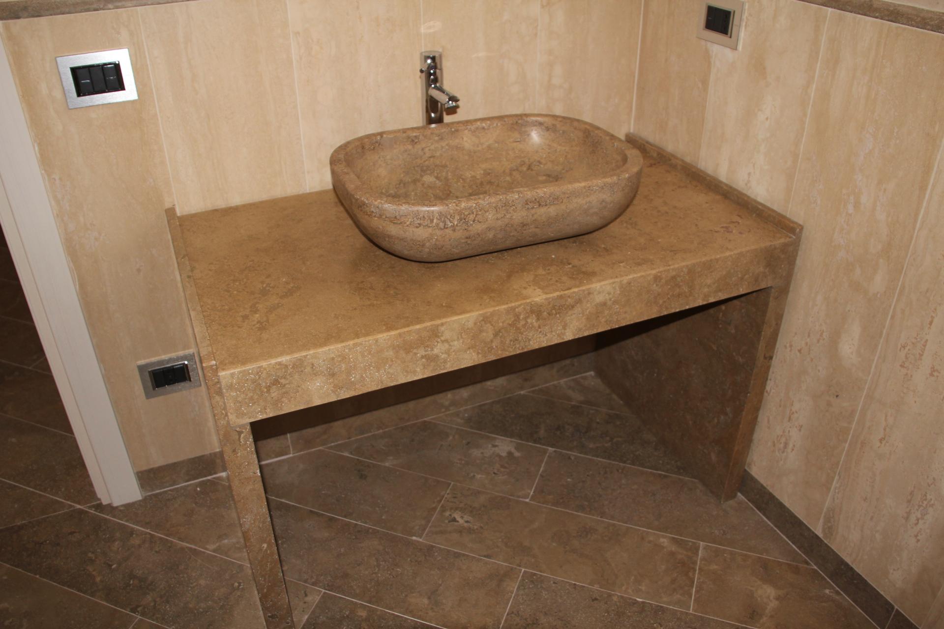 bagno di marmo marron