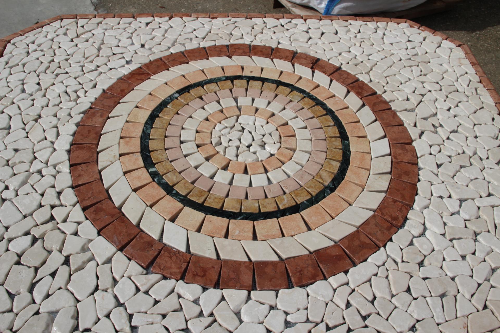 Foto marmi invecchiati o anticati burattato di marmo e - Tavolo giardino mosaico prezzi ...