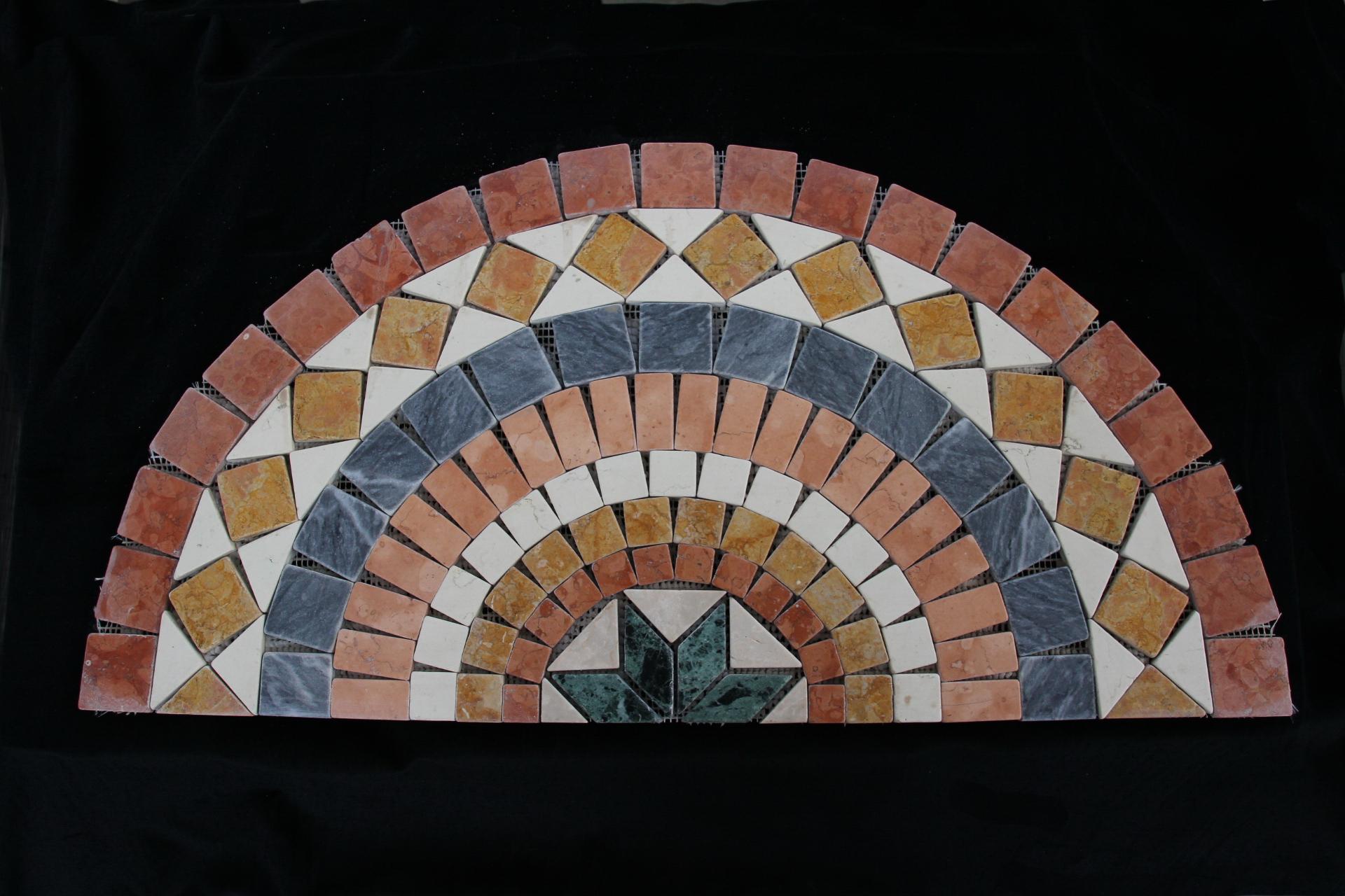 Foto marmi invecchiati o anticati burattato di marmo e for Mosaici in marmo per pavimenti