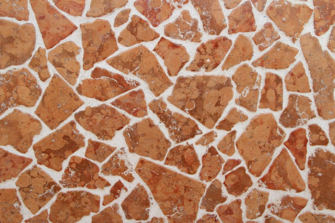 Pavimento Marmo Rosso : Foto di palladiana di marmo burattata qualita extra.